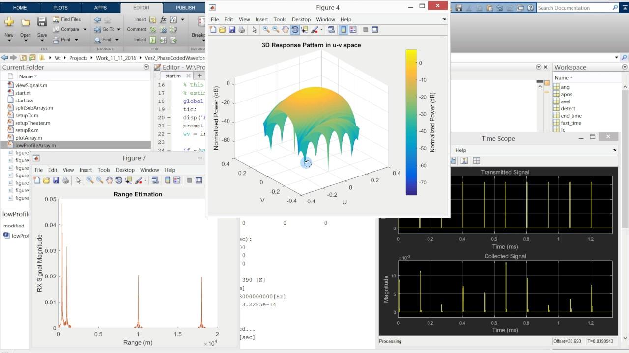 Pulse Doppler Radar Simulator