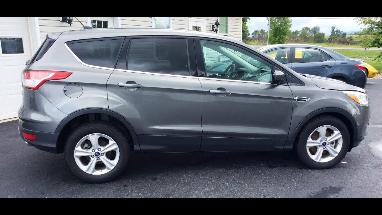 2014 ford escape se eco boost 4 wheel dr for sale youtube. Black Bedroom Furniture Sets. Home Design Ideas