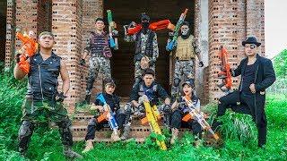 LTT Nerf War : Captain SEAL X Warriors Nerf Guns Fight Criminal Group Dr Lee Music Battle