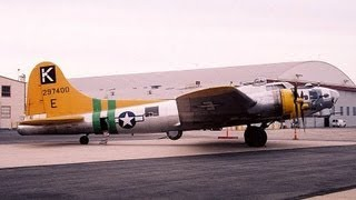 "Boeing B-17G Flying Fortress ""Fuddy Duddy"" N9563Z Van Nuys Airport in 2005"