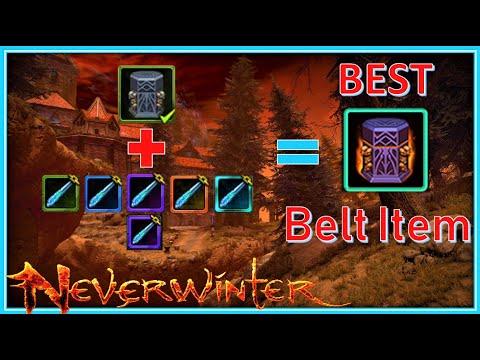 Neverwinter best utility slot
