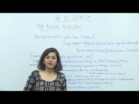 Socialism in Europe & Russia _ Part4 _ The Russian Empire-Economy & Society _ Aarushi Aggarwal
