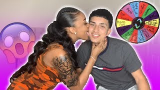 EXTREME Spin The Wheel w/ My Crush! (1 Spin = 1 Dare)
