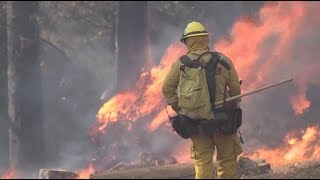 Firefighters Continue Efforts to Ensure Safety in Fight Against Wildfires