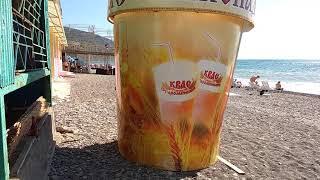 Помоечные пляжи 2. Рыбачье, под Алуштой в Крыму