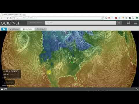 Outernet satellite receiver using Raspberry Pi - YouTube