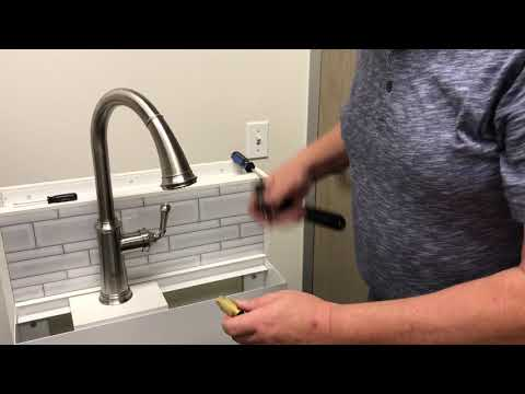 Grohe Low Flow Faucet Remedies Installation Video Youtube
