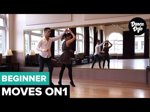 Salsa Turns and Spins for Beginners On1 - 5 Basic Right Turns   TheDanceDojo.com