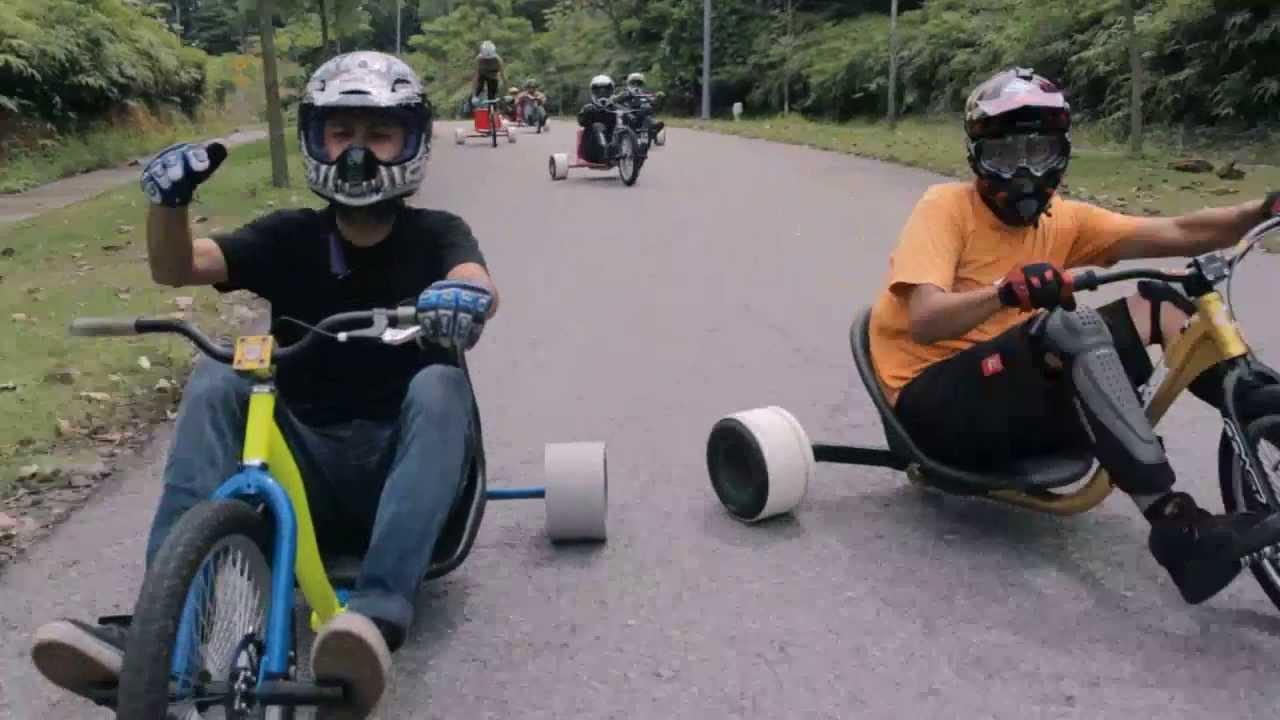 drift trike malaysia dubfly trikers youtube