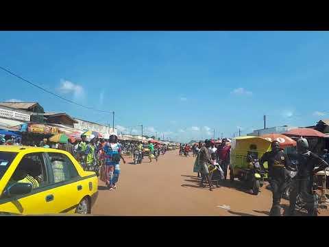 Bangui market