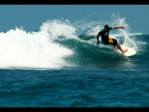 Lhoknga Beach in Banda Aceh sights Surfing