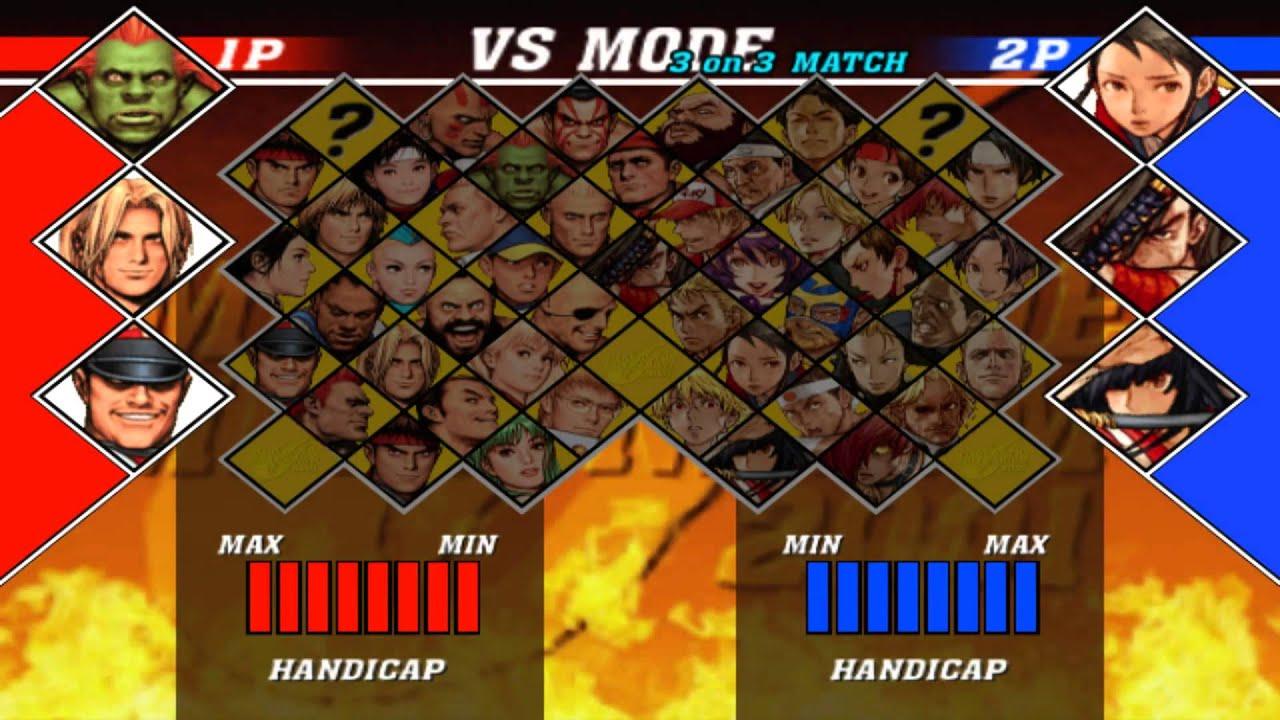 Let S Fucking Play Capcom Vs Snk 2 Eo Vs Mode 3 On 3 12 1 14