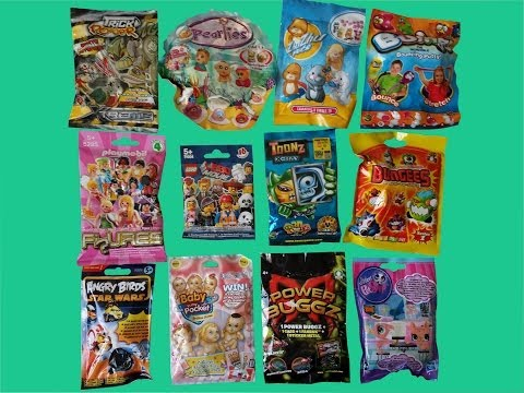 12 Surprise Blind Bags Playmobil Lego The Movie Angry