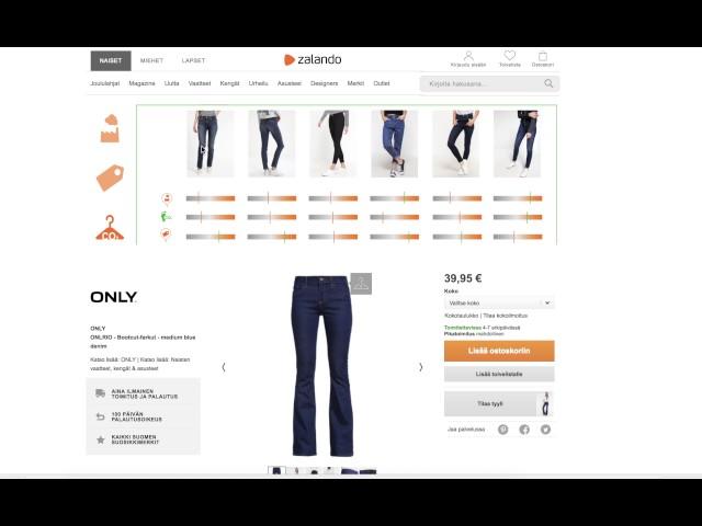 Zalando und die vielfältigen Informationsbedürfnisse der Shopper ... f2b9a85411