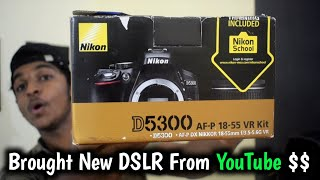 Unboxing My First DSLR   Nikon D5300 Unboxing  and Review in Malayalam   Nikon.com