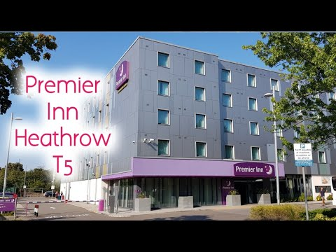 Premier Inn Heathrow Airport Terminal 5 - Hotel And Room Tour