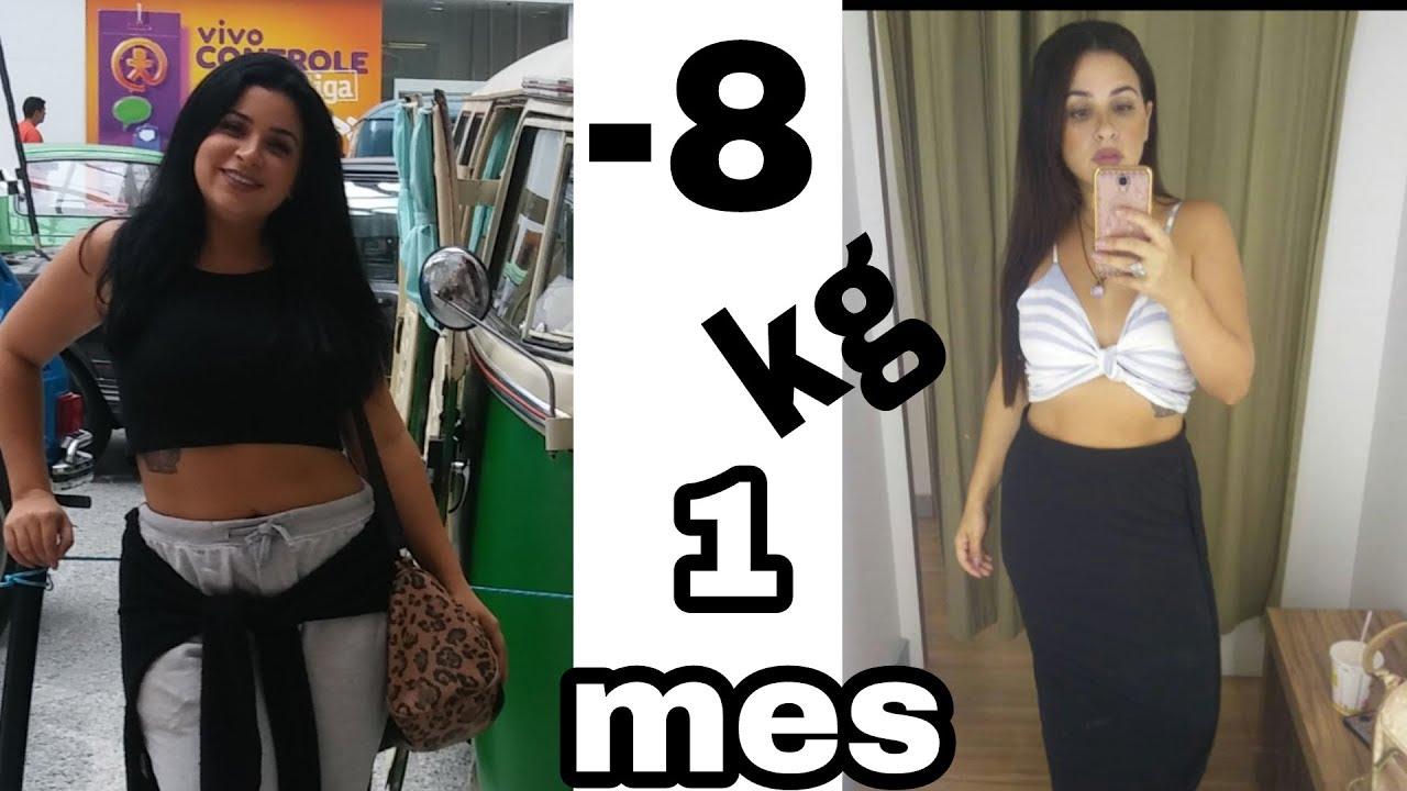 como adelgazar en un mes 8 kilos