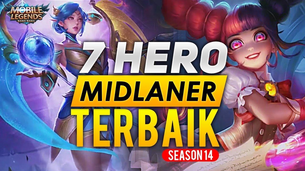20 HERO MIDLANE TERBAIK SEASON 20   Mobile Legends Indonesia by ...