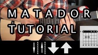 "Como tocar ""Matador"" de Los Fabulosos Cadillacs - Tutorial Guitarra (Acordes) HD"