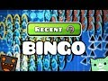 Recent Level Bingo w/ Juniper - Geometry Dash