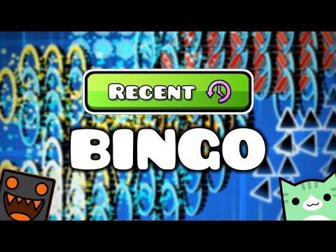 Recent Level Bingo w/ Juniper - Geometry Dash