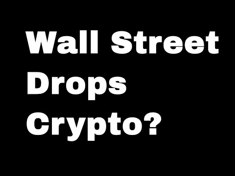 Wall Street Should Drop Crypto: 3 Reasons Why