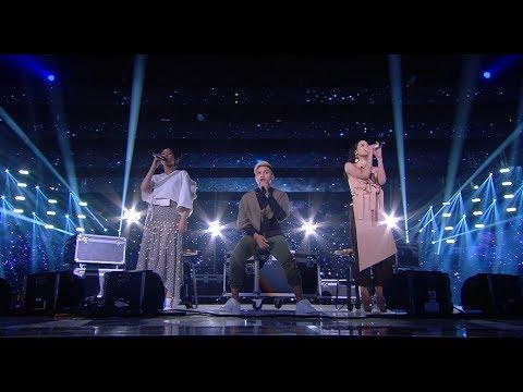 Rizky Febian, Isyana Sarasvati, Maudy Ayunda - Medley LOVE SONG - LIVE from NET 4.0