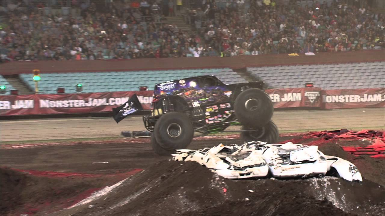 monster jam sydney pitpass gurmit - photo#9