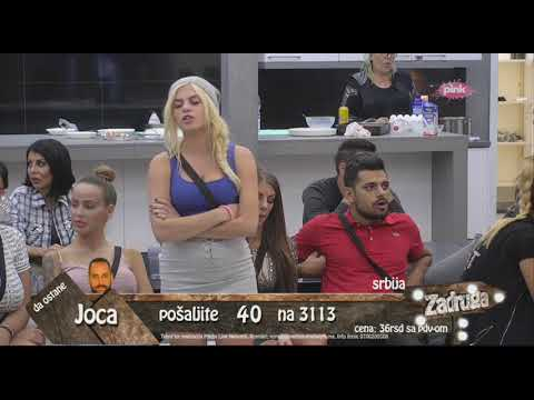 Zadruga 2 - Bane Čolak priča o prepisci sa Marijanom - 21.10.2018.