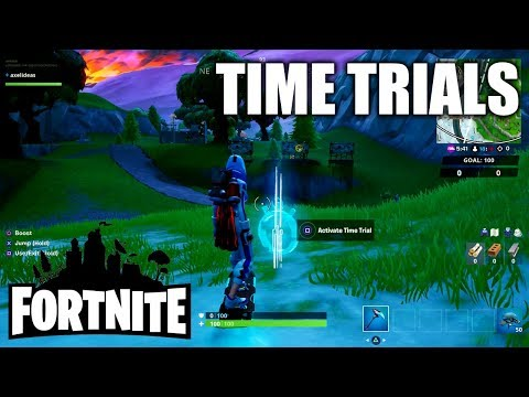 Fortnite Complete A Time Trial East Of Pleasant Park Or South West Of Salty Springs