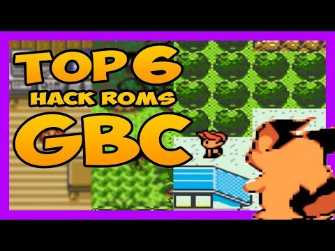 👉TOP 6 HACK ROMS ⚡️GBC⚡️ POKÉMON | PC Y ANDROID