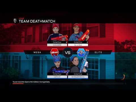 Nerf War:  Mega or Elite!?