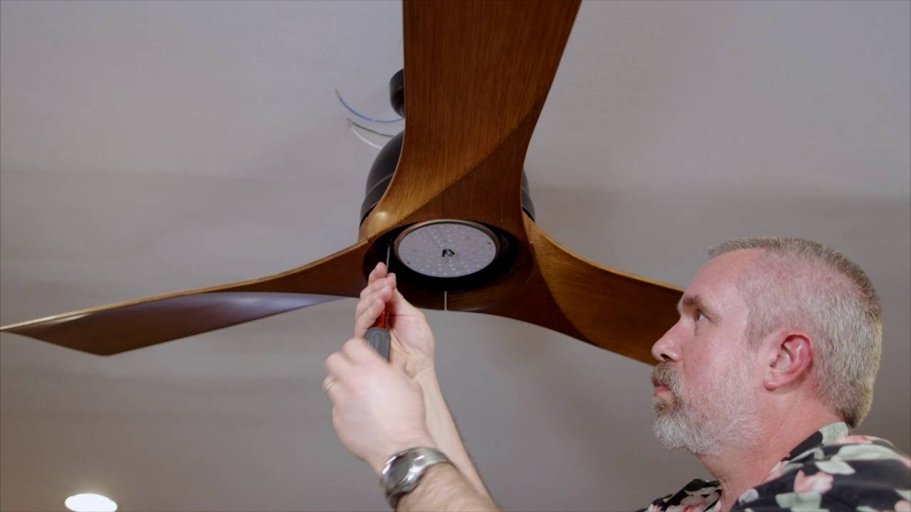 emerson volta ceiling fan standard installation cf590 - youtube
