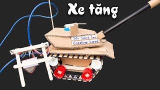 Sáng chế Xe Tăng điều khiển cực ngầu V2   Yêu Sáng Tạo