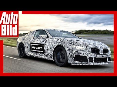 Offizieller Teaser BMW M8 Erlkönig (2017) - Der 8er bekommt ein M /Erste Bilder