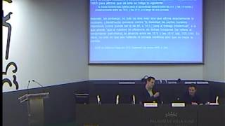 "Conferencia ""Jornada escolar: continua, partida..."" (Rafael Feito) - Parte 3/7"