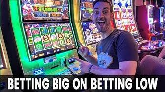 🔴 Betting BIG on Betting LOW 🎰 San Manuel Casino