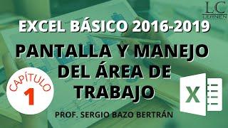 Curso GRATUITO de EXCEL BÁSICO | Parte 01 | Partes de la VENTANA y manejo básico del ÁREA DE TRABAJO