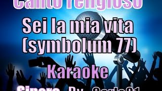 Canto religioso - Symbolum 77 karaoke
