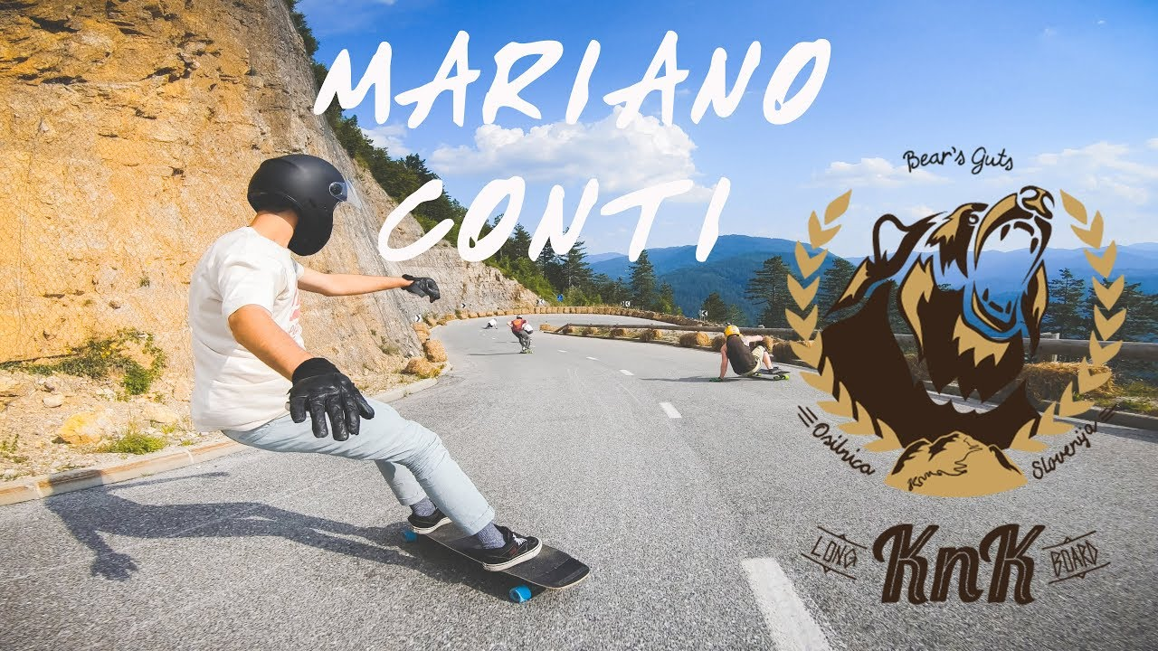 Mariano Conti No Paws Down at Knk Longboard Camp 2018