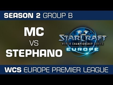 MC vs. Stephano - Group B Ro32 - WCS European Premier League - StarCraft 2