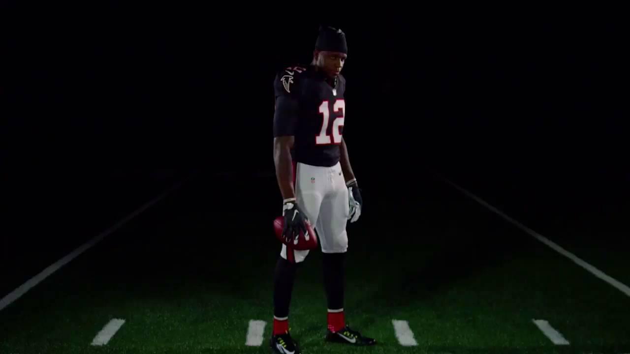 low priced f2082 22b3e Atlanta Falcons Throwback Uniforms for 2016 Season