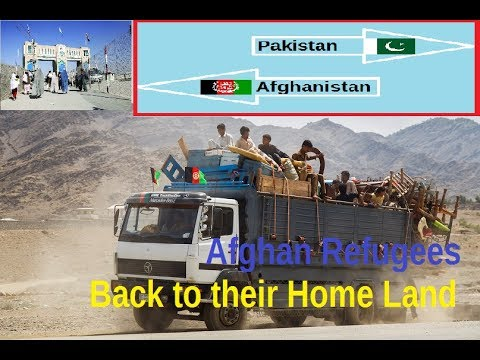Pakistan sends Afghan refugees back to their home land after 38 years of hospitality!!!