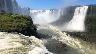 Водопад Глотка Дъявола, Игуасу, Бразилия Garganta del Diablo Iguazu Falls, Brazil