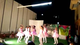 Ballet dance by little angels@HM Tambourine during cultural event