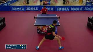 2018 JOOLA LA OPEN - Mens SF - Tao Wenzhang vs Hou Yingchao (Highlights)