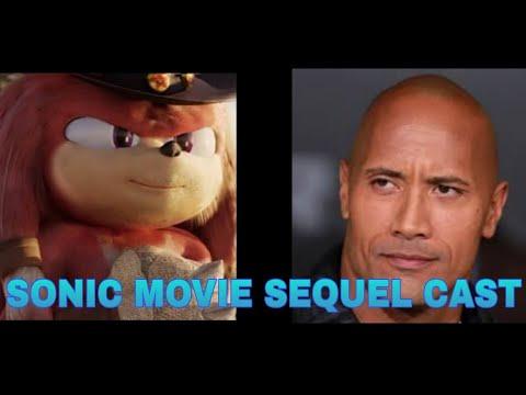 Sonic Movie Sequel Cast