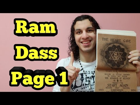 Ram Dass  - How to Trust the Universe   Be Here Now   Hinduism   Jesus   Alan Watts   Yoga