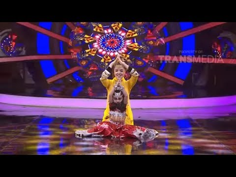 BUKAN BAKAT BIASA - Lucu Banget Tina Toon Menari India Dengan Anak Kecil  (21/1/18) Part 2