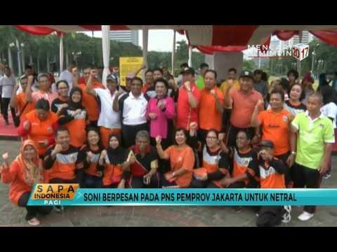 Plt Gubernur DKI Pamitan pada PNS Pemprov DKI